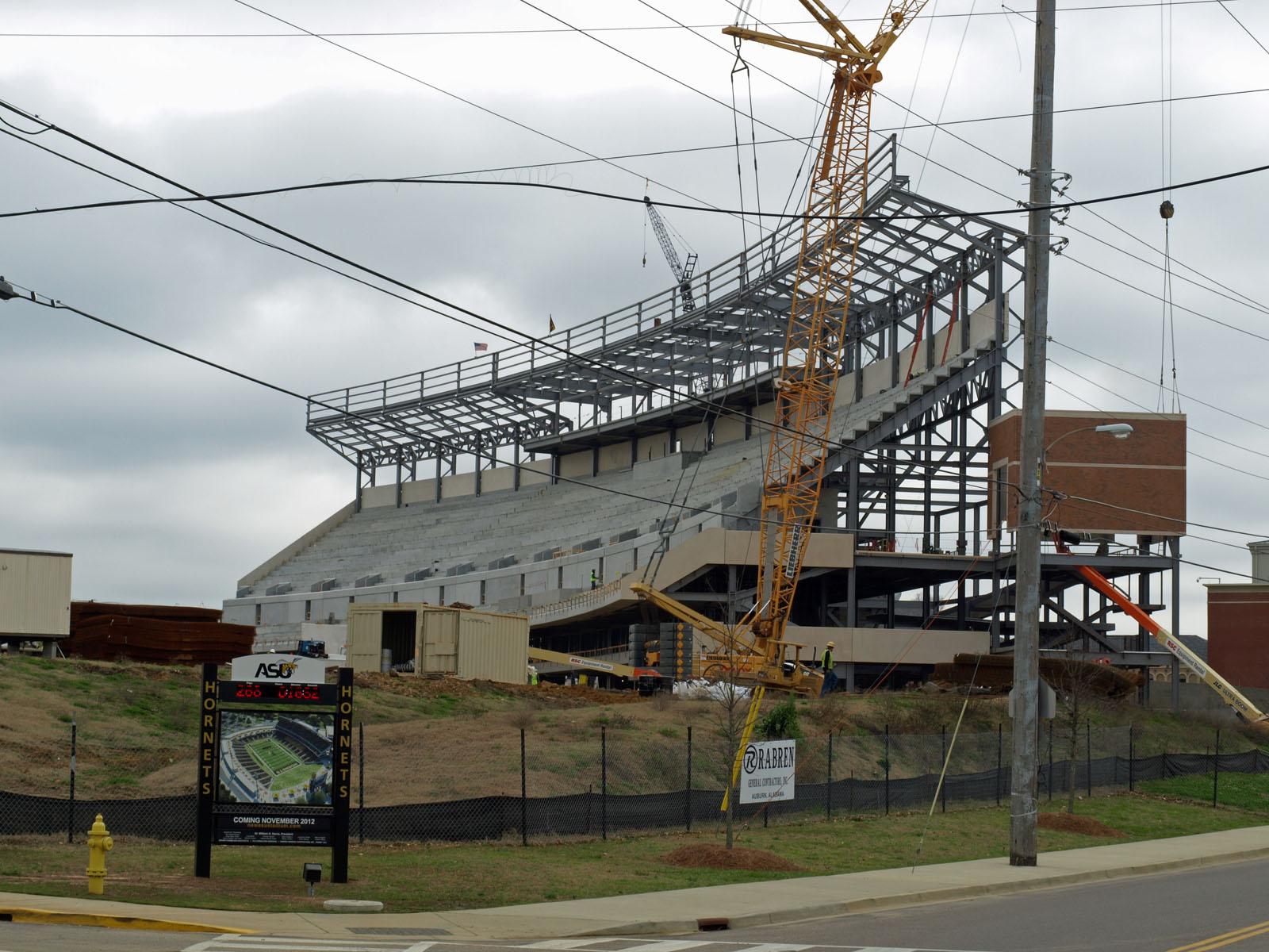 Terry frei csu has no good choice but to build new football stadium